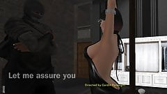Ransom Starin' Through Rearview(Orgasmic Second Life SL Sex)