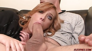 Dani Jensen stretched by thick cock's Thumb