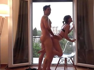 Tourists In Greece Fuck Hard In Airbnb Apartment
