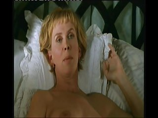 Trudie Styler Topless on bed