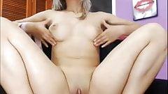 Webcam - Hot exotic young blonde girl teasing