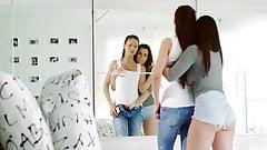 Passionate Lesbian Teens