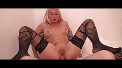 Beautiful french mature in threesome