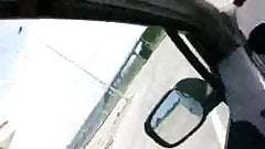Lavoro di bocca in macchina!