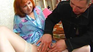 Russian mom strapon 2