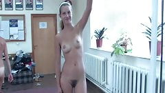 Nude Casting Girls in Gym for Fitness