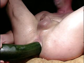 Preview 1 of Big Zucchini Anal