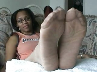 Ebony Pantyhose Feet