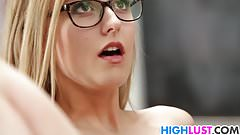Alexa Grace fucks for grades