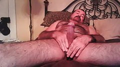 Nasty Hairy Daddy Shows hairy hole  enjoys mansmell