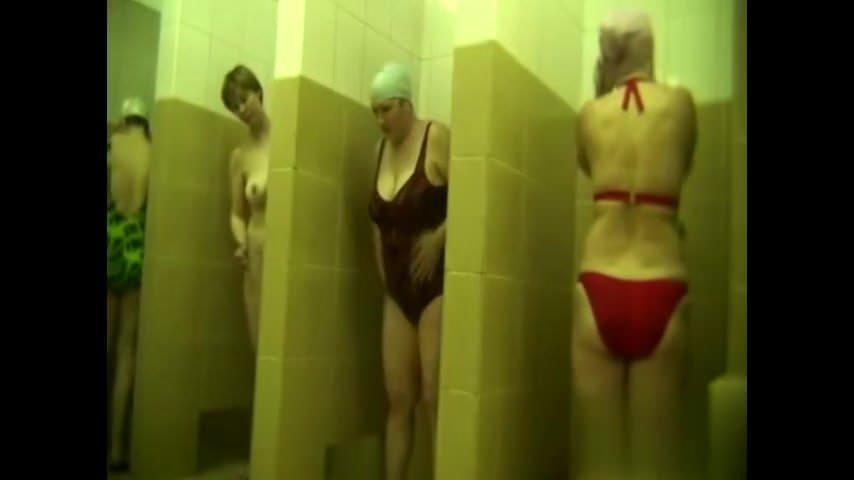 54yo milf in hidden shower