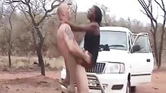 african babe picked up for car sex thumb