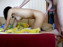 18yo skinny Teen girl enjoy boyfriends long cock 4
