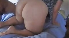 BBW MILF Huge White Ass