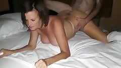 Hotwife fucked by strange with huge cock