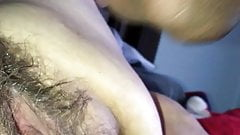 Kay and I Play With Her Big Hairy Pussy