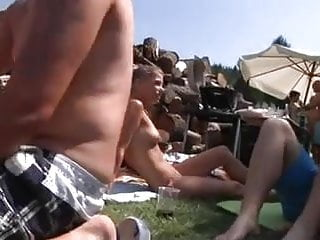 Nude Beach - Beach Camp Bareback Swingers - Part 2