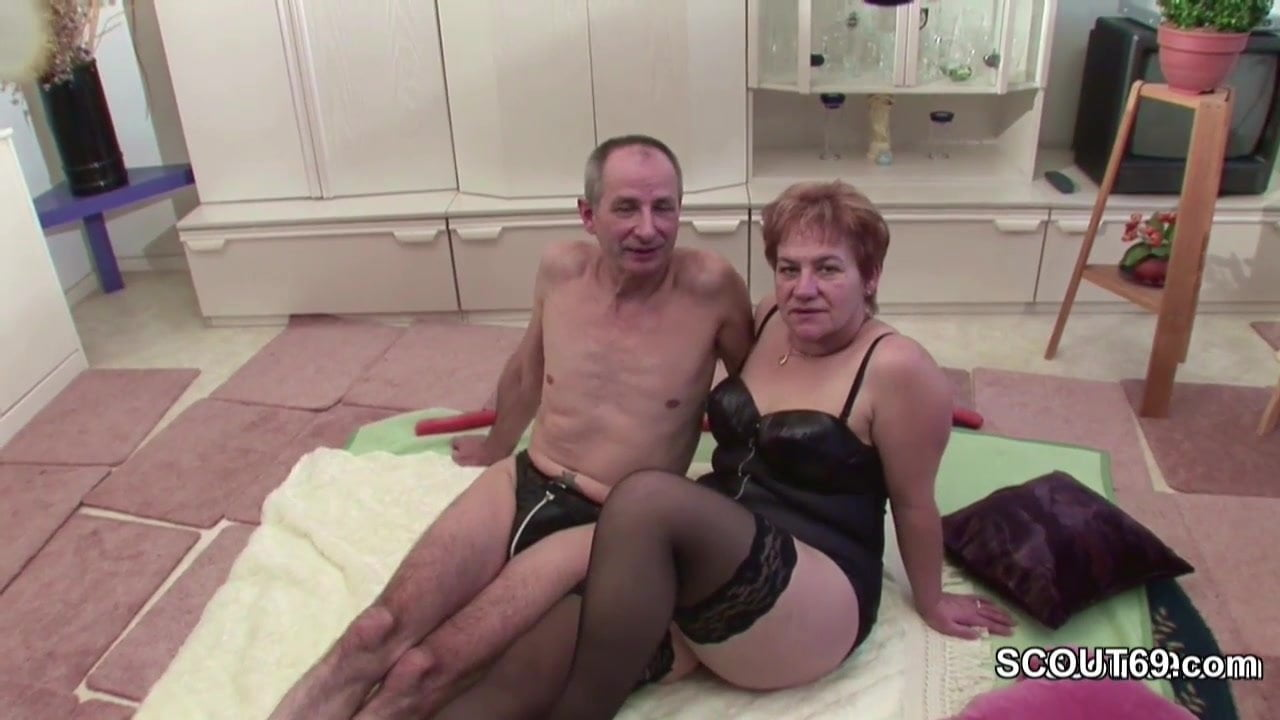 German Old Grandpa And Grandma In First Time Porn-9959
