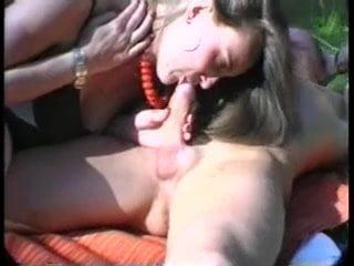 Mature Ella sucking my cock till the last drop