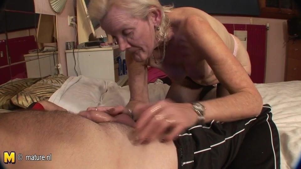Very old granny fucking