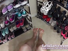 Lelu Love-My Feet And Soles From MY POV