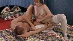 Short Hair Fraulein Brought Bald Herr