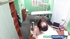 FakeHospital Sweet Doctor gives Valentine's flowers