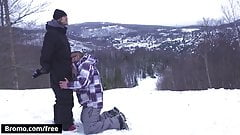 Winter XXX Games Part #1 Scene 1 featuring Bo Sinn and Jack