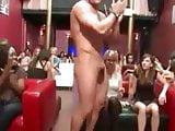 Horny Busty Sluts Suck The Hard Stripper Cock