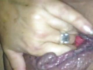 Nasty wet big lips pussy masturbation