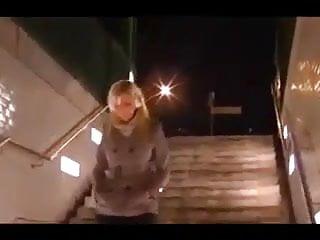 La Bionda in metro