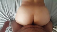 Petite mature woman takes younger black cock