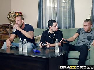 Brazzers - Mommy Got Boobs -My Friends Fucked My Mom scene