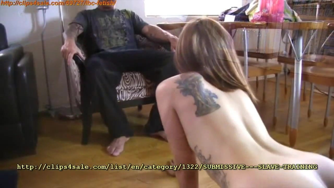 Submissive slave training porn