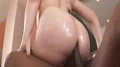Great anal big whitey booty