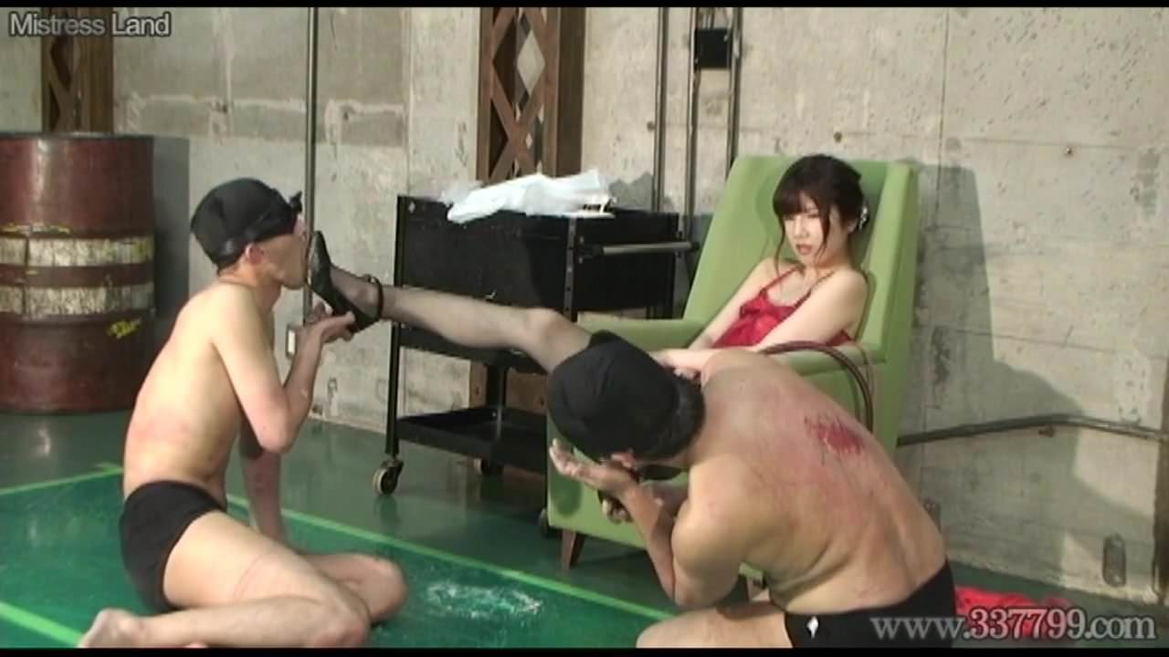 Will and licking femdom japanese worship shoe help