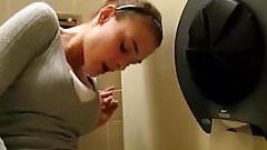 Fingering In Public Bathroom