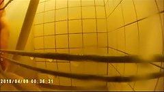 Tulips (is showering (hidden action cam)