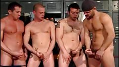 Locker Room Circle Jerk