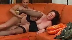 German mature analy pleased