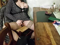 Wife in spanish restaurant voyeur pussy And Big tits