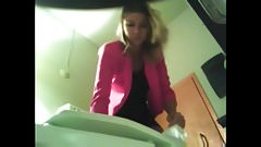 hidden cam - cute girl in toilet