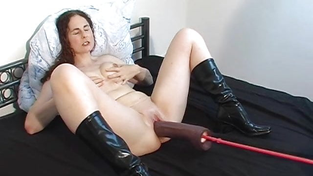 Sabine 1 Fucked by Dildo