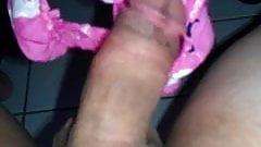 Cumming into panties