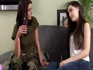 Gay strap on - Beautiful lesbians chayse evans fucks sasha grey with strap-on