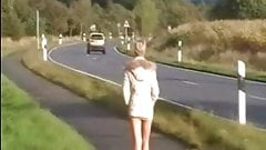 Friends Wife public nudity