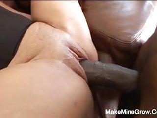 Big Ass Whore Gets Big Dick Pounding