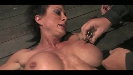 Powerful MILF Roped and Hogtied Endless Orgasms: Porn 47