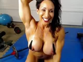Denise On Webcam 4-01-2015