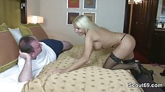 German Hooker get fucked old men for money